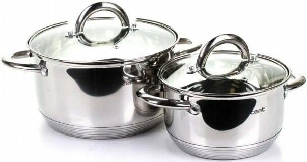 Набор посуды из нержавеющей стали Vincent VC-3027 купить недорого онлайн