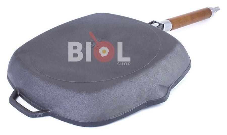 Купить квадратную сковородку гриль Биол