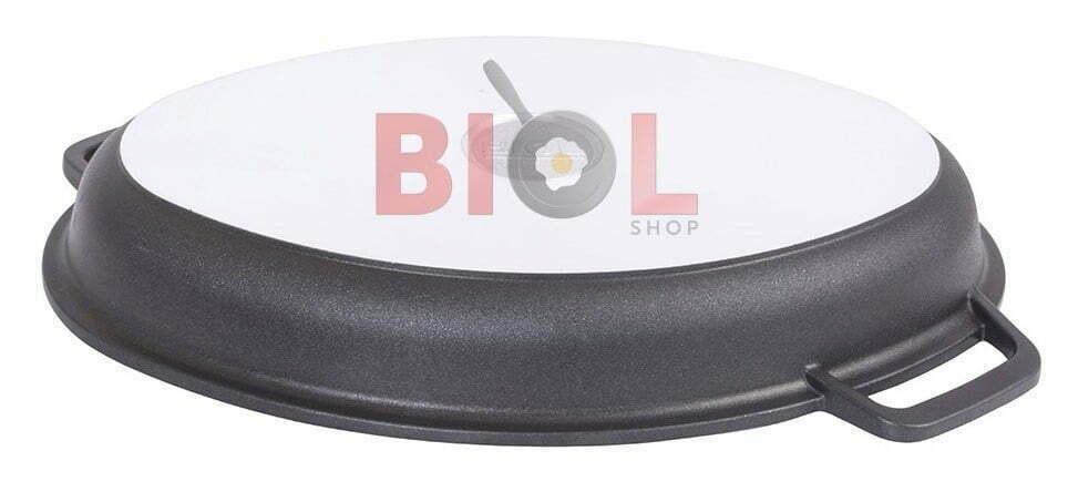 Гусятница Биол алюминиевая с крышкой-сковородой купить в Украине