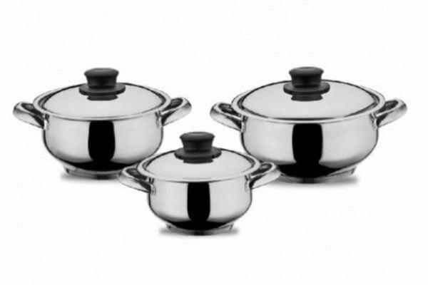 Набор нержавеющей посуды Milenyum