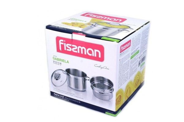 Кастрюля для макарон Fissman 4,5 л