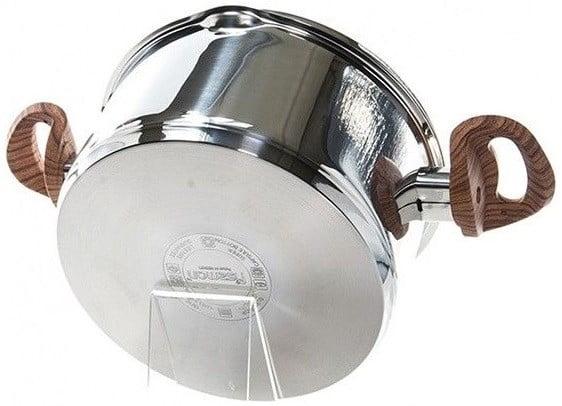 Нержавеющая кастрюля с крышкой Fissman Altea 2,5 л купить на сайте Биол шоп