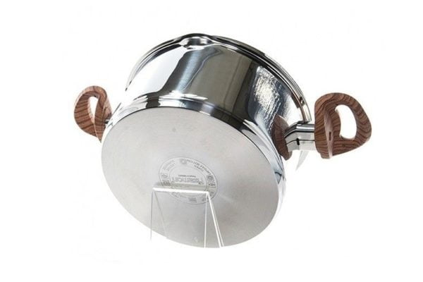 Нержавеющая кастрюля с крышкой Fissman Altea 2,5 л