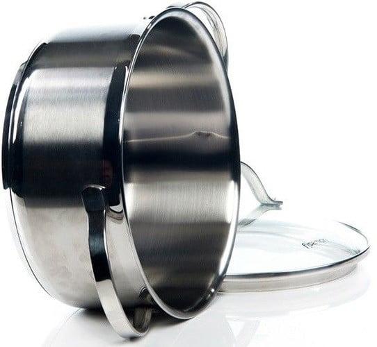 Кастрюля со стеклянной крышкой Fissman Luminosa 2,1 л купить на сайте Биол шоп