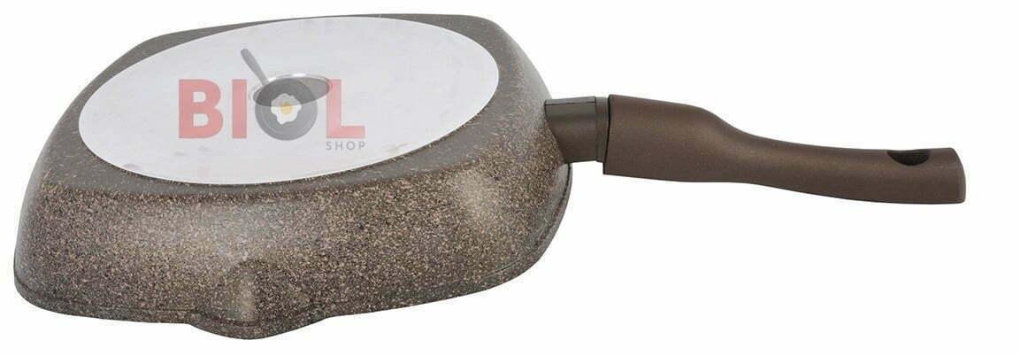 Сковорода гриль антипригарная 28 см купить дешево онлайн