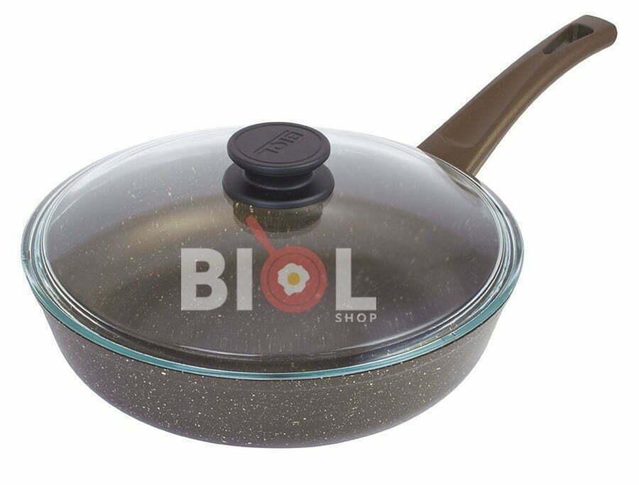 Антипригарная сковорода 24 см Классик-Декор отзывы и фотообзор