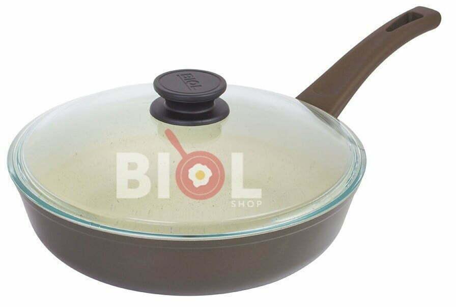 Сковорода антипригарная 22 см Классик-Декор стоимость сковородок