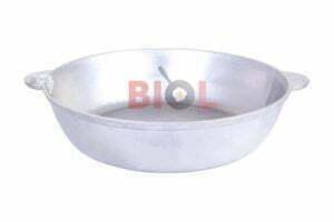 Алюминиевая сковорода с крышкой и 2 ручками Биол 32 см купить дешево