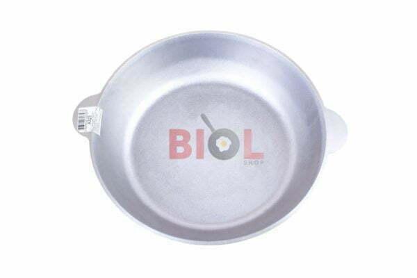 Сковородка алюминиевая с крышкой и 2 ручками Биол 32 см купить онлайн