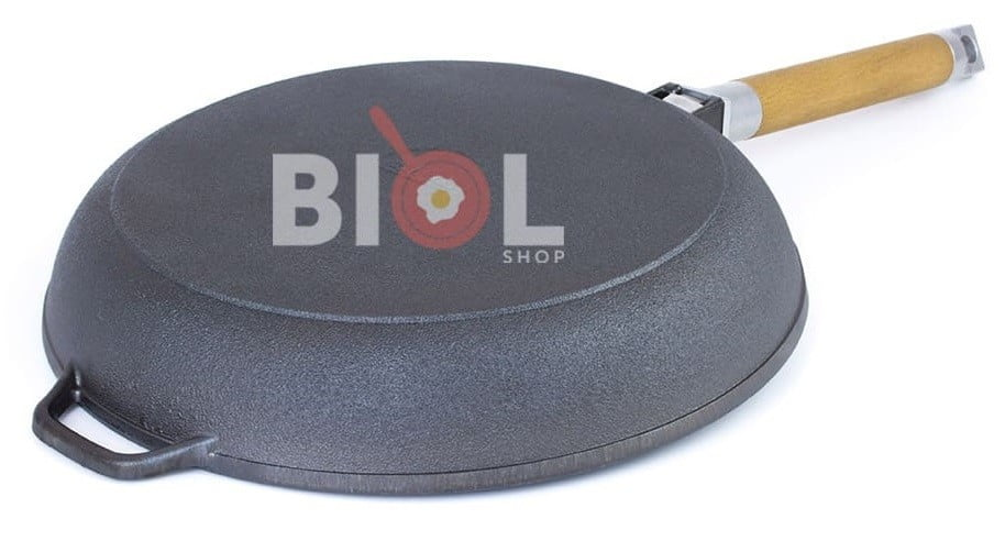 Купить чугунную сковородку с низкими бортами онлайн