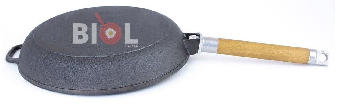 Купить чугунную сковородку с чугунной крышкой онлайн. Украина