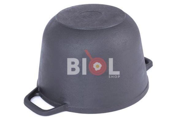 Крышка-сковорода и кастрюля на 3 л Биол чугунная заказать онлайн