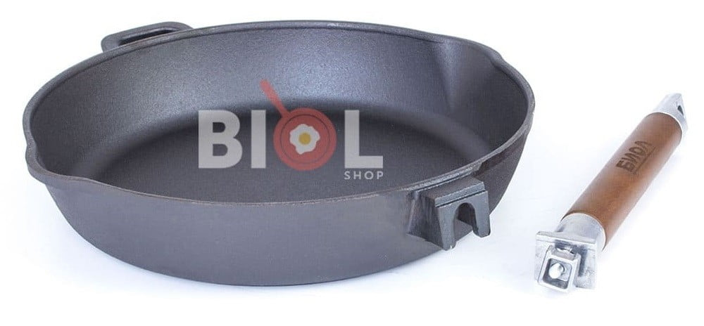 Купить сковородку из чугуна на сайте Биолшоп