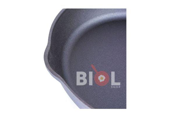 Чугунная сковородка с высокими стенками Биол