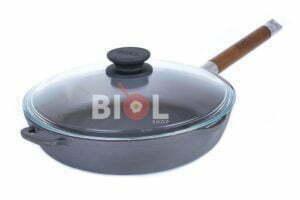 Сковорода чугунная Биол высокая