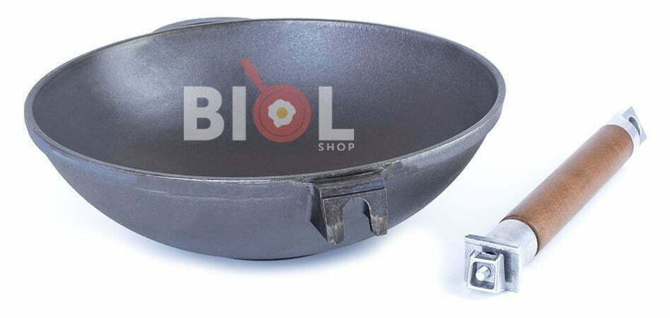 Лучшая цена на вок сковородку Биол