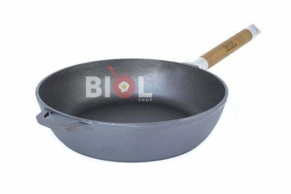 Сковорода чугунная Биол 24 см