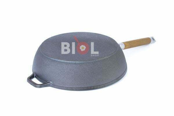 Чугунная сковорода Классик со съемной ручкой Биол Украина