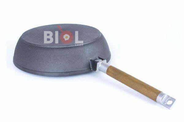 Чугунная сковорода Классик 28 см со съемной ручкой Биол дешево