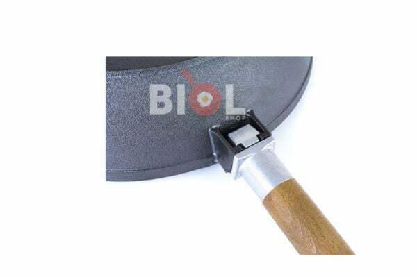 Чугунная сковорода Классик 28 см со съемной ручкой Биол низкая цена