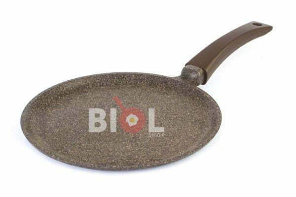 Блинная сковорода антипригарная 24 см Гранит Браун 24083П