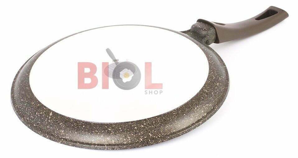 Блинная сковорода антипригарная 24 см Гранит Браун отзывы и цена на сайте