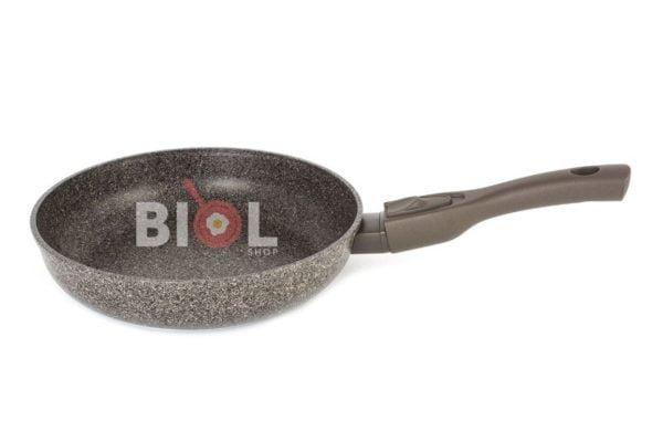 Антипригарная сковорода 24 см Гранит-Браун Биол 24133П
