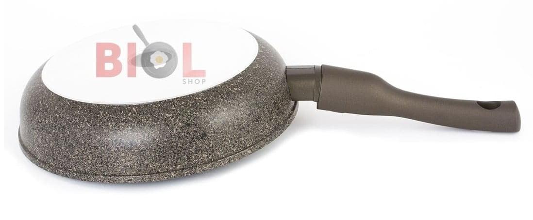 Тефлоновая сковорода 24 см Гранит-Браун купить недорого в интернет магазине Биол