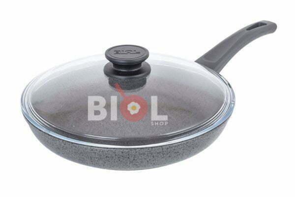 Антипригарная сковорода Биол с крышкой