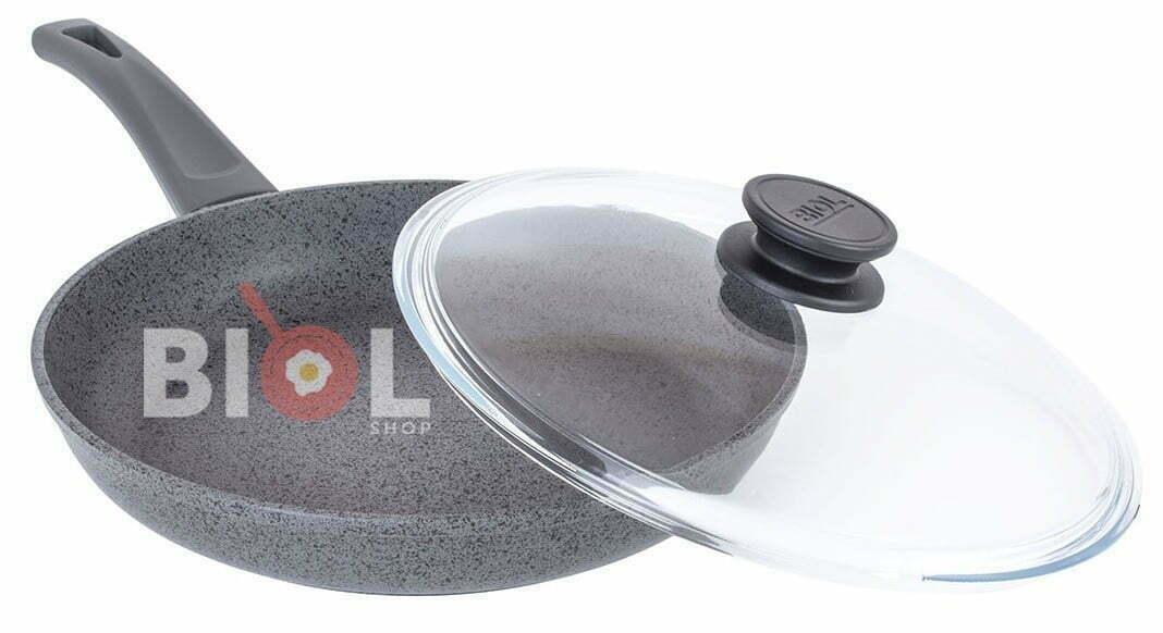 Антипригарная сковорода 24 см Оптима-Гранит фотообзор и описание