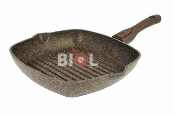 Сковорода гриль антипригарная 26 см