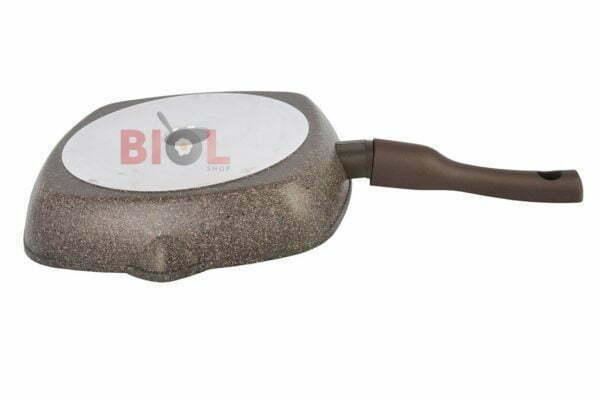 Гранит Браун антипригарная сковородка гриль 260 мм купить