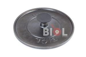 Круглая чугунная крышка пресс Биол 21,5 см 11242