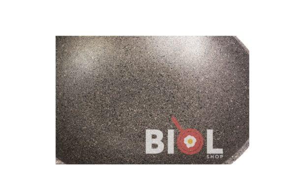 Сковорода антипригарная Вок Биол со стеклянной крышкой заказать недорого