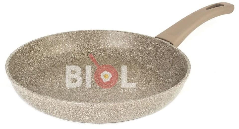 Сковорода с крышкой 28 см антипригарная купить по доступной цене