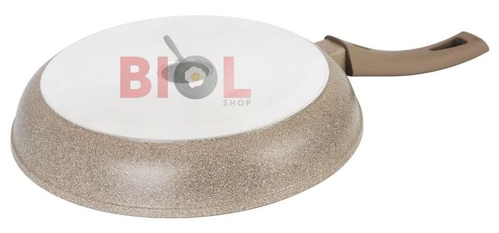 Сковорода с крышкой 28 см антипригарная купить онлайн