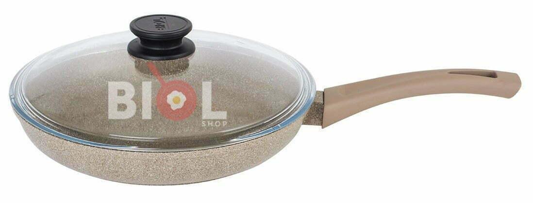 Сковорода антипригарная 24 см с крышкой купить недорого в интернет магазине онлайн