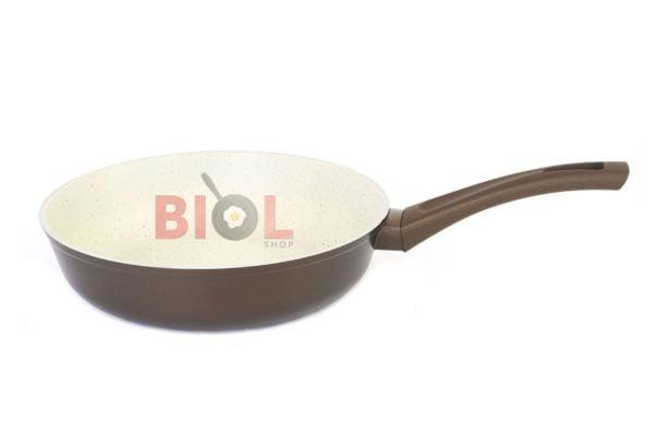 Сковородка антипригарная 26 см Классик-Декор Биол 26077П низкая цена