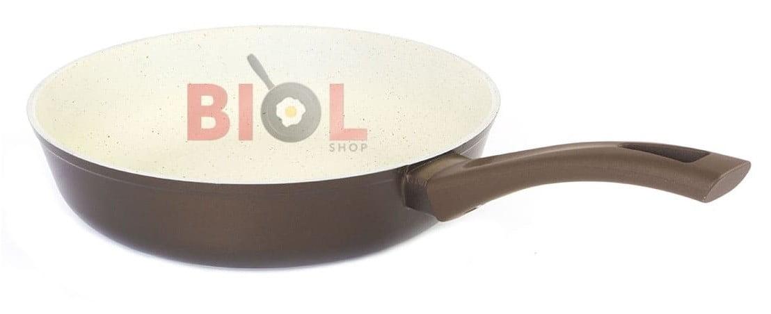 Антипригарная сковорода 28 см Классик-Декор отзывы и стоимость посуды Биол