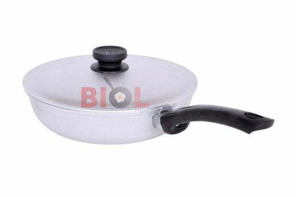 Сковородка алюминиевая с рифленым дном и крышкой по низкой цене