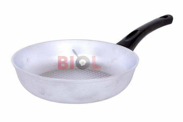 Высокая сковородка с рифленым дном 22 см купить в Украине