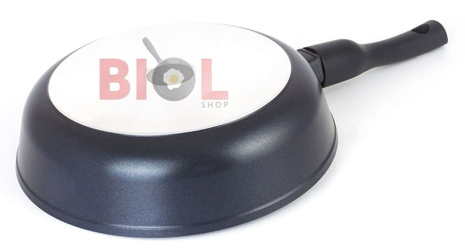 Сковорода антипригарная с крышкой 24 см купить недорого