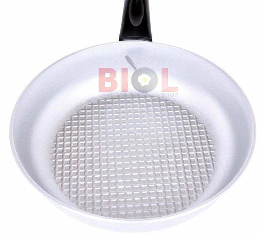 Сковорода алюминиевая рифленая 20 см Биол с крышкой купить онлайн