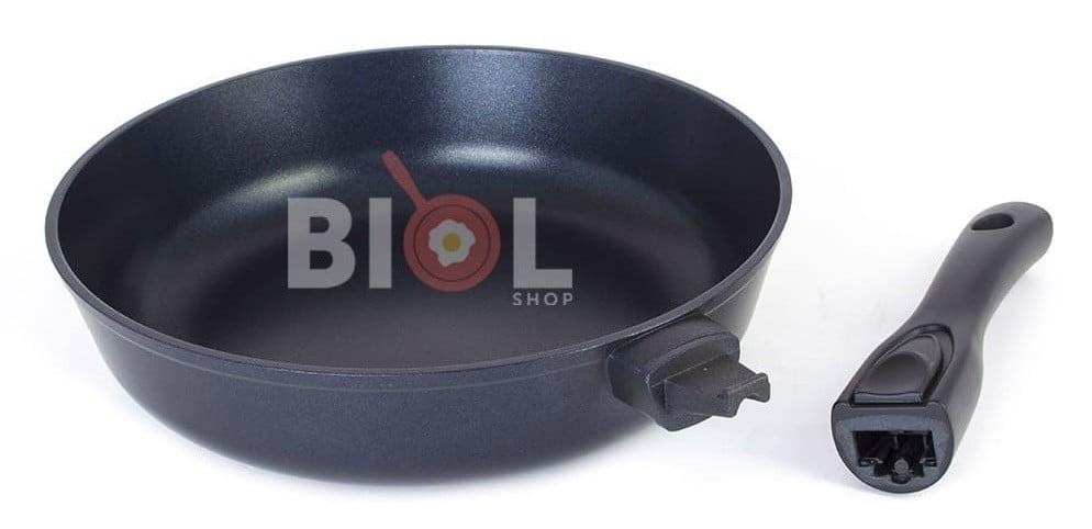 Сковорода антипригарная с крышкой 24 см купить дешево