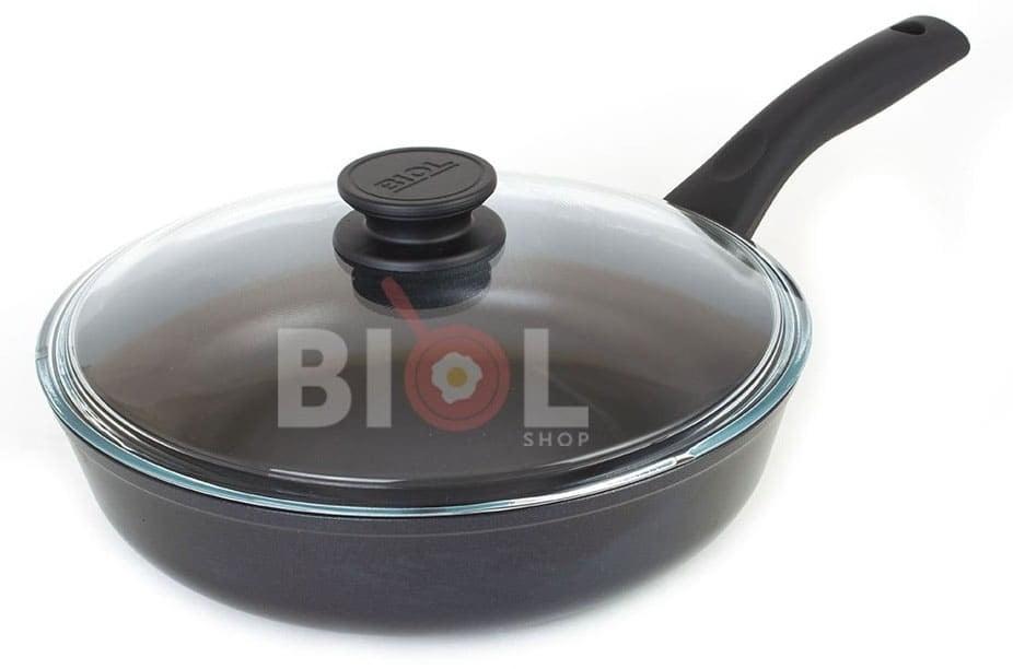 Антипригарная сковорода Классик 24 см лучшая цена на сайте Биолшоп