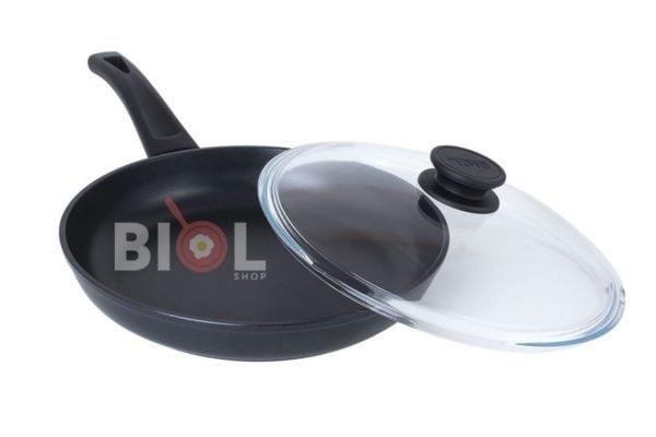 Сковорода Оптима антипригарная 26 см с крышкой Биол заказать онлайн