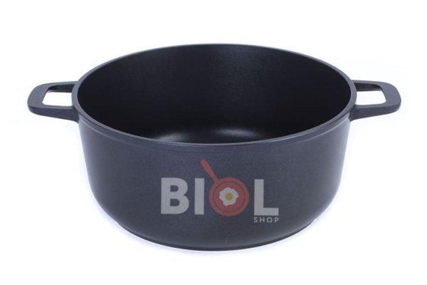 Кастрюля алюминиевая Биол с крышкой-сковородой 5 л заказать онлайн