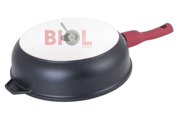 Сковорода антипригарная 260 мм Титанал Биол