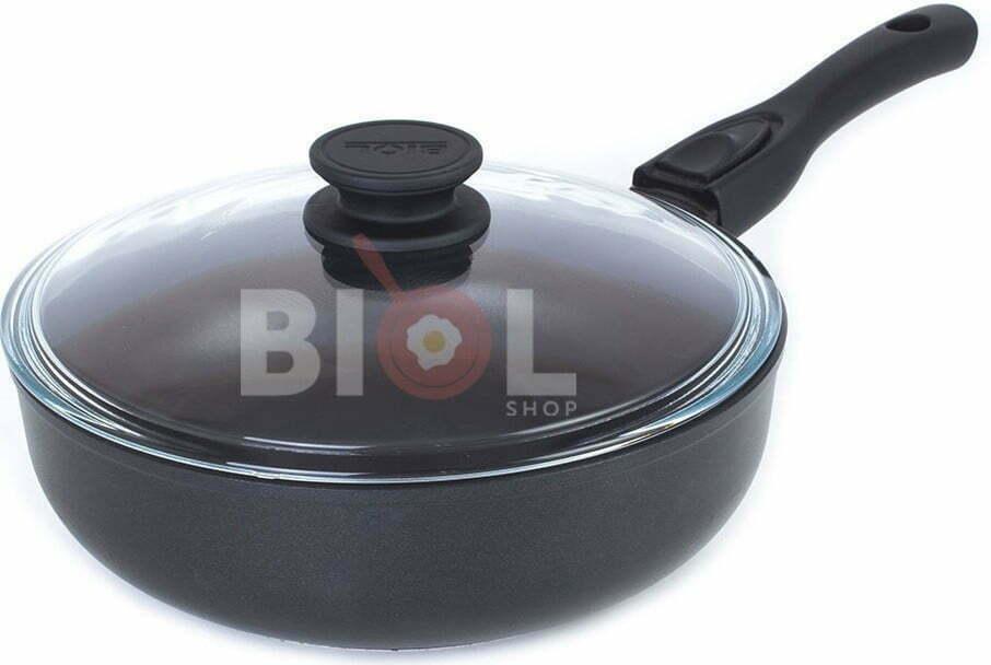 Сковорода тефлоновая 24 см Биол купить недорого