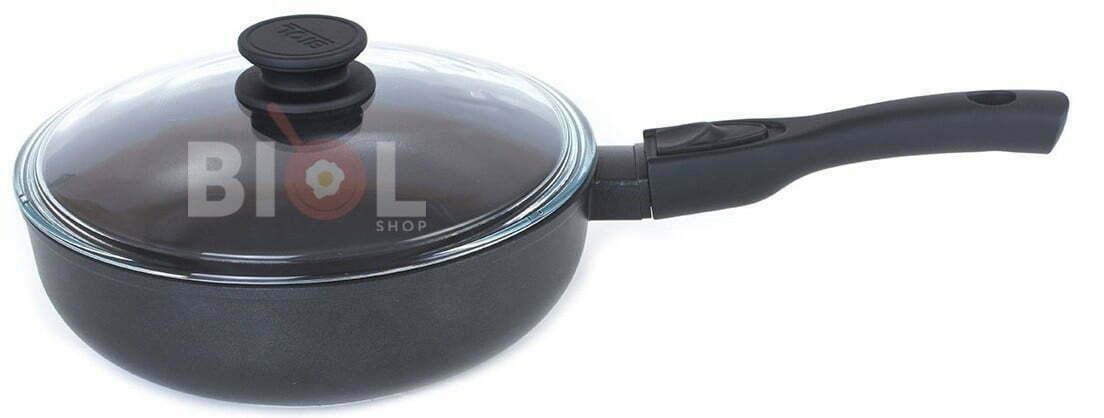 Сковорода тефлоновая 24 см Биол купить по дешевой цене